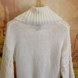 Rue 21 Cowlneck Sweater With 3/4 Sleeves